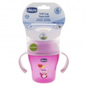 Chicco Soft Cup 6m+ Ροζ (6823-12)