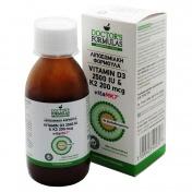 Doctor's Formulas Vitamin D3 2500iu +K2 200mcg