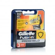 Gillette Aνταλλακτικά Fusion Proshield 3τμχ