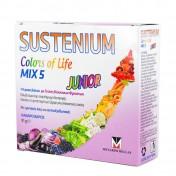 Menarini Sustenium Colors of Life Junior Mix 5 Γεύση Κόκκινων Φρούτων 14 φακ. 6,5g