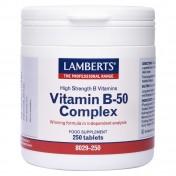 Lamberts Vitamin Β-50 Complex 250 tabs