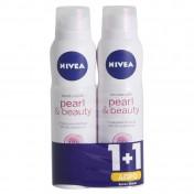 Nivea Deo Pearl & Beauty Spray 150ml 1+1 ΔΩΡΟ