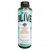 Korres Pure Greek Olive Σαμπουαν Λαμψης, σαμπουαν μαλλιων