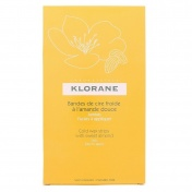 Klorane Body & Legs Hair Removal Cold Wax Strips With Sweet Almond 6τμχ