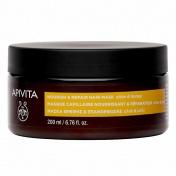 Apivita Nourish & Repair Hair Mask με Ελιά & Μέλι 200ml