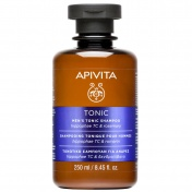 Apivita Men's Tonic Shampoo Κατά της Ανδρικής Τριχόπτωσης με Hippophae TC & Δενδρολίβανο 250ml