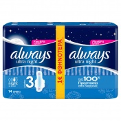 Always Ultra Night Jumbo Pack 14 τμχ