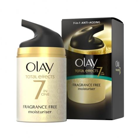 Olay Total Effects 7in1 Anti-Ageing Moisturiser Fragrance Free 50ml αρχική   καλλυντικα   περιποιηση προσωπου   ενυδάτωση