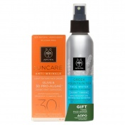 Apivita Suncare Promo Anti-Wrinkle Face Cream Spf 30 with Olive and Pro-Algae 50ml & ΔΩΡΟ Face Water Green Mountain 100ml