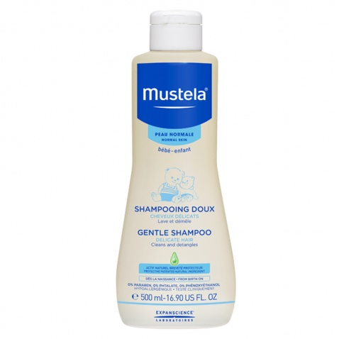 Mustela Gentle Shampoo Bebe 500ml