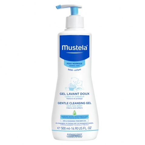 Mustela Gentle Cleansing Gel Hair & Body 500ml
