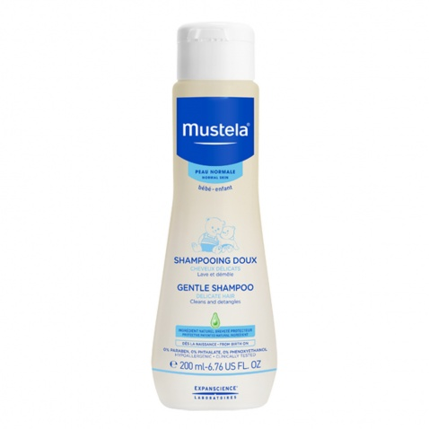 Mustela Gentle Shampoo Bebe 200ml