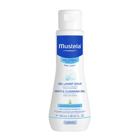 Mustela Gentle Cleansing Gel Hair & Body 100ml