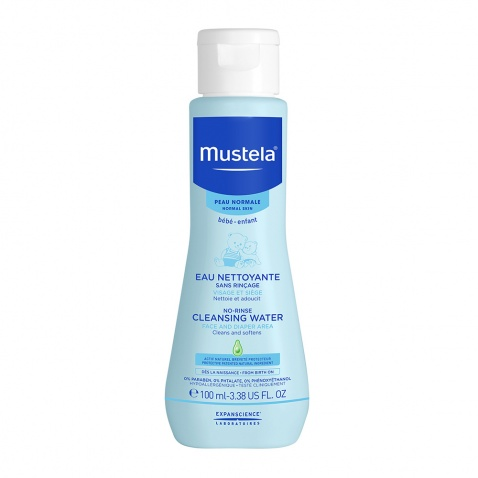 Mustela No-Rinse Cleansing Water 100ml