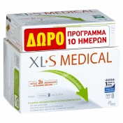 Omega Pharma Xl-S Medical Fat Binder 180caps και ΔΩΡΟ 60caps (Αγωγή 30+10 ημερών)