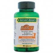 Nature's Bounty Vitamin Ester-C 500mg με Κιτρικά Βιοφλαβονειδή 90tabs