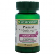 Nature's Bounty Prenatal 30tabs