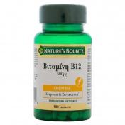 Nature's Bounty Vitamin B12 500μg 100tabs