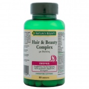 Nature's Bounty Hair and Beauty Complex με Βιοτίνη 60tabs
