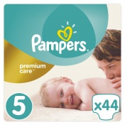Pampers Premium Care Jumbo Pack No 5 Junior 11-18 kg 44 τμχ