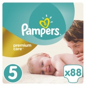 Pampers Premium Care Mega Pack No 5 Junior 11-18 kg 88 τμχ