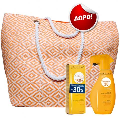 Bioderma Promo Pack Photoderm Νο1 με ΔΩΡΟ Υπέροχη Τσάντα Θάλασσας 55354