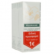 Klorane Duo Creme Depilatoire Apaisante 2x75ml Το 2ο Προϊόν 1€