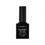 Korres Βερνίκι Νυχιών Gel Effect Nail Colour Top Coat 11ml