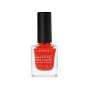 Korres Βερνίκι Νυχιών Gel Effect Nail Colour No 19 Watermelon