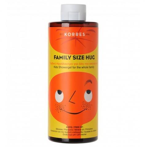 Korres Family Size Hug Παιδικό Αφρόλουτρο 400ml