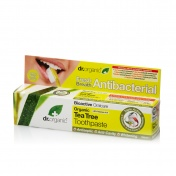 Dr.Organic Tea Tree Antibacterial Toothpaste 100ml
