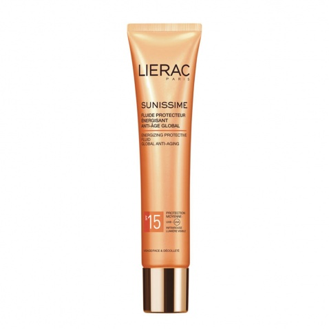 Lierac Sunissime Energizing Protective Fluid Global Anti Aging SPF15 40ml 55501