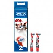 Oral B Stages Power Star Wars Ανταλλακτικά Παιδικής Ηλεκτρικής Οδοντόβουρτσας 2τεμ