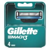 Gillette Mach 3 Ανταλλακτικά 4τεμ