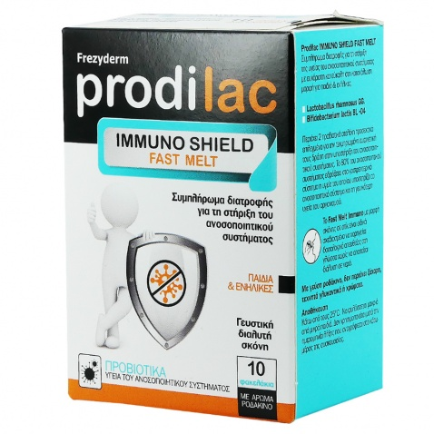 Frezyderm Prodilac Immuno Shield Fast Melt 10 sticks 55530