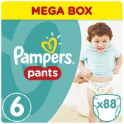 Pampers Pants Extra Large Mega Box No 6 16+ kg 88 τμχ