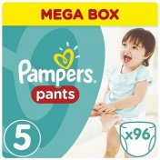 Pampers Pants Junior Mega Box No 5 12-18kg 96τμχ