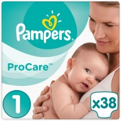 Pampers Pro Care Premium Protection No 1 2-5Kg 38τμχ