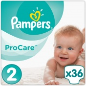 Pampers Pro Care Premium Protection No 2 3-6Kg 36τμχ