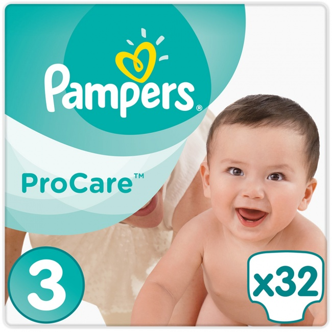 e60ae030fe7 Pampers Pro Care Premium Protection No 3 5-9Kg 32τμχ - youpharmacy.gr