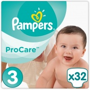 Pampers Pro Care Premium Protection No 3 5-9Kg 32τμχ