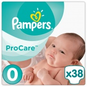 Pampers Pro Care Premium Protection No 0 1-2.5Kg 38τμχ
