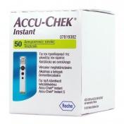 Roche Accu-Chek Instant 50 Ταινίες Μέτρησης Σακχάρου