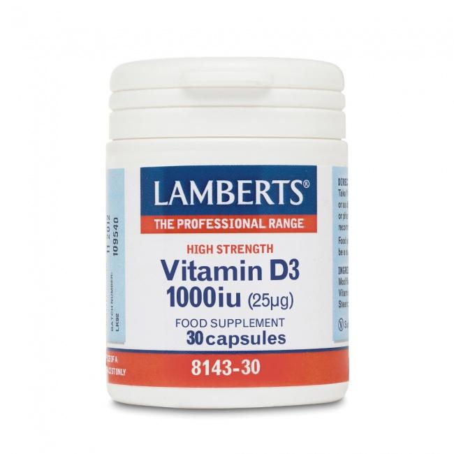 Lamberts Vitamin D3 1000iu 30tabs