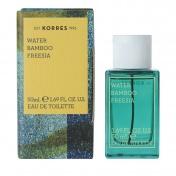 Korres Γυναικείο Άρωμα Water Bamboo Freesia Eau de Toilette 50ml