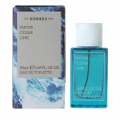 Korres Ανδρικό Άρωμα Water Cedar Lime Eau de Toilette 50ml