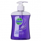 Dettol Soft on Skin Hard on Dirt Antibacterial Hand Wash με λεβάντα & εκχυλίσματα σταφυλιού 250ml