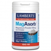 Lamberts MagAsorb Magnesium Powder 375mg 165gr