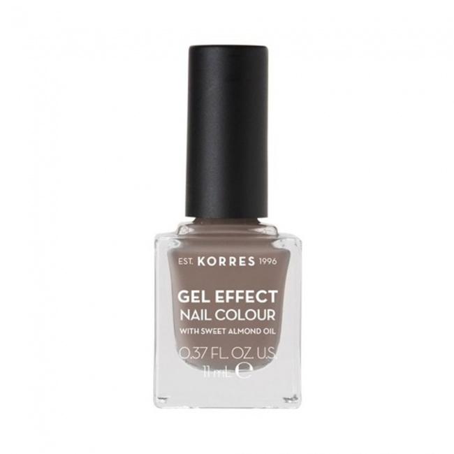 Korres Gel Effect Nail Colour No 95 Stone Grey 11ml