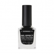 Korres Gel Effect Nail Colour No 100 Black 11ml
